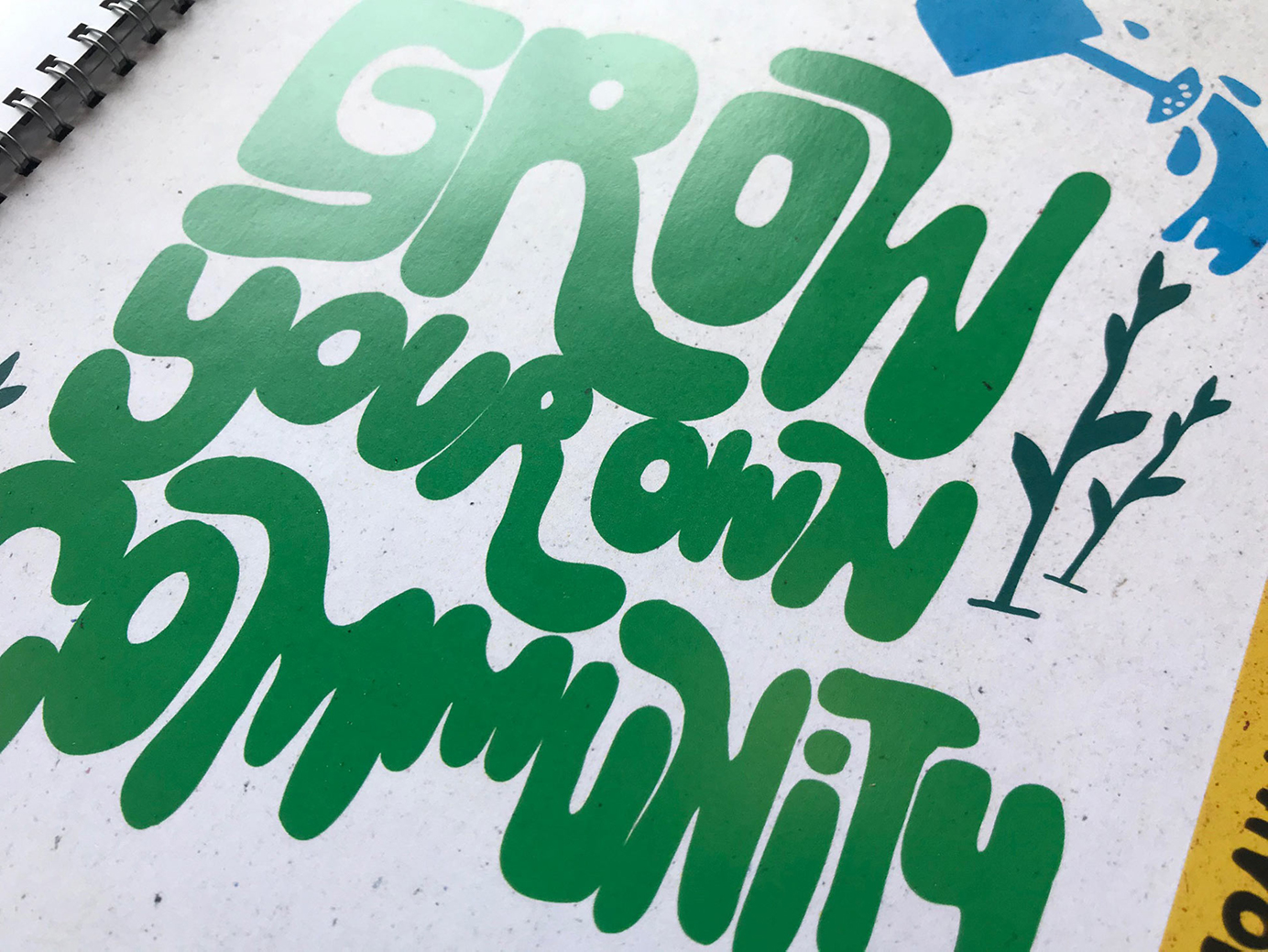 Grow your own community