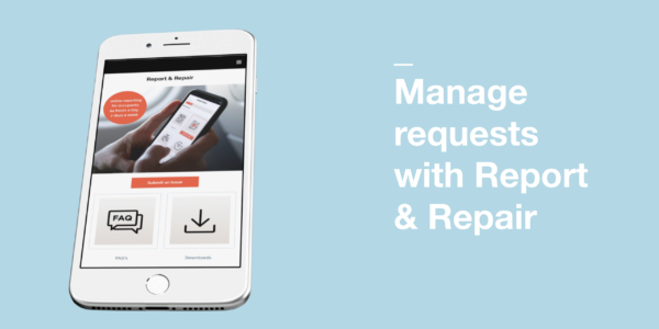 Manage requests with Report & Repair