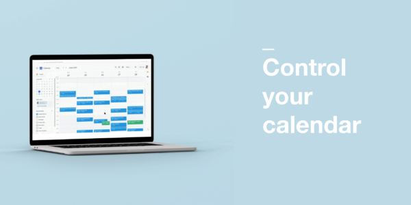 Control your calendar